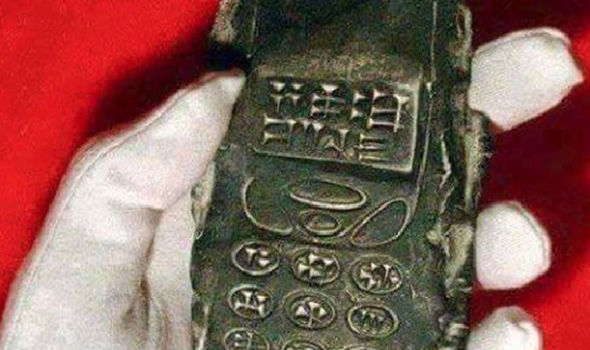 Picture about Archaeologists' Discovery of 800-Year-Old Mobile Phone Proves Time Travel is Real
