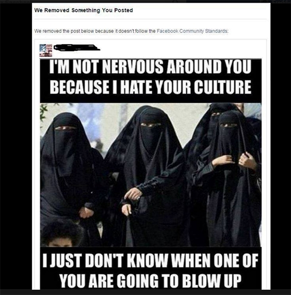 Picture about Facebook Will Delete Posts that Criticize Islam