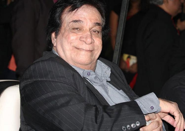 Picture Suggesting Bollywood Actor Kader Khan Died