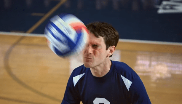 Picture from Video Showing Best Volleyball Blocks Ever with Scott Sterling