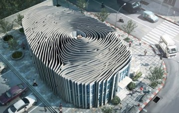 Image about Picture of Amazing Fingerprint Building in Thailand
