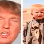 Picture Suggesting Donald Trump Born in Pakistan as Dawood Ibrahim Khan, Childhood Photo