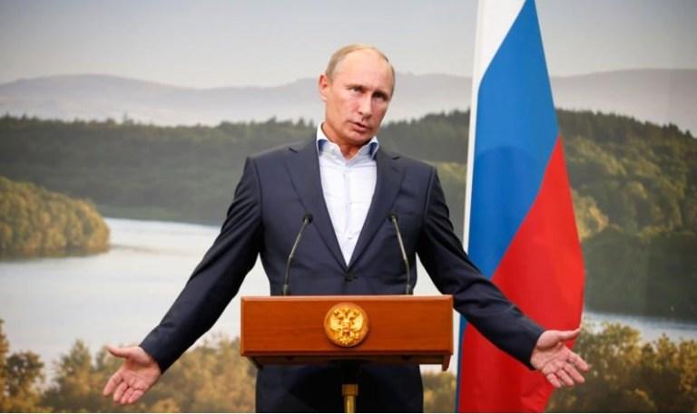 Picture Suggesting Vladimir Putin Will Sing at Donald Trump's Inauguration