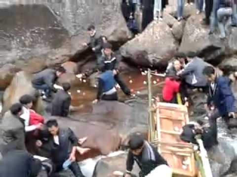 Picture Suggesting Famous China Glass Bridge Collapses, Disaster Video