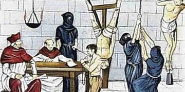 Images Depicting Horrible Inhuman Catholic Inquisition of Hindus in Goa