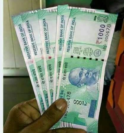 RBI Released New Currency Notes of Rs 1000, 100, 50 and 20: Hoax