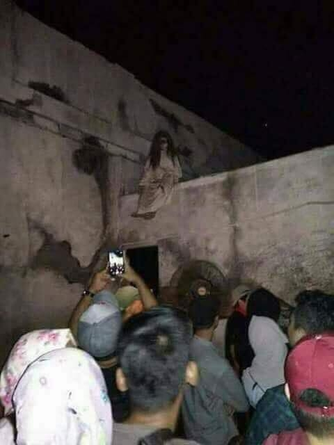 Picture about Scary Chudail (Ghost) Seen in Pakistan's Hyderabad City