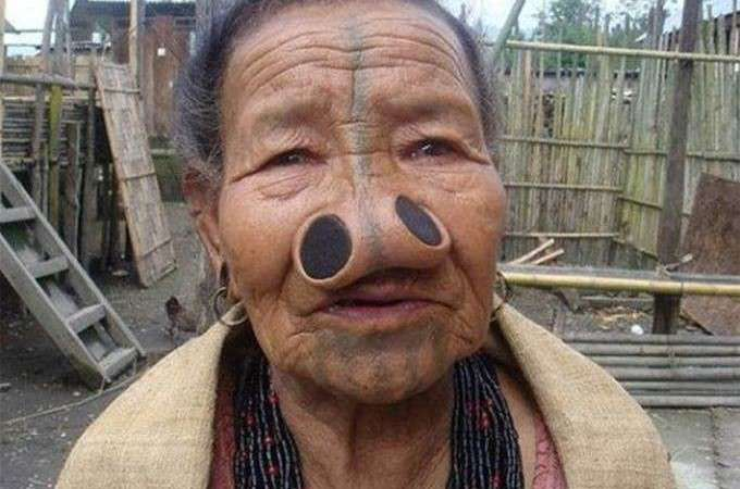 Funny Nose, Body Modification Picture of a Woman: Facts