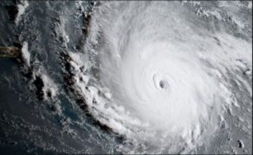 Satellite Picture of Hurricane Irma