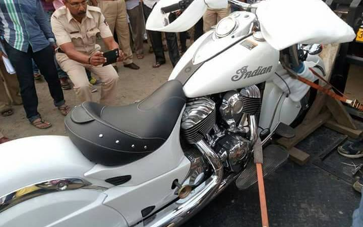 10 Crore Imported Bike Gifted to Son by a MLA in India: Hoax