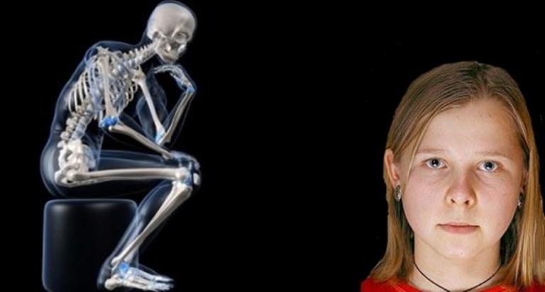 Picture: Natasha Demkina, the Russian Girl with X-ray Eyes