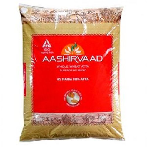 Picture about Aashirvaad Atta Contains Rubber Plastic