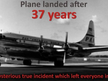 Picture: Lost Pan American Plane Landed After 37 Years, Riddle of Flight 914