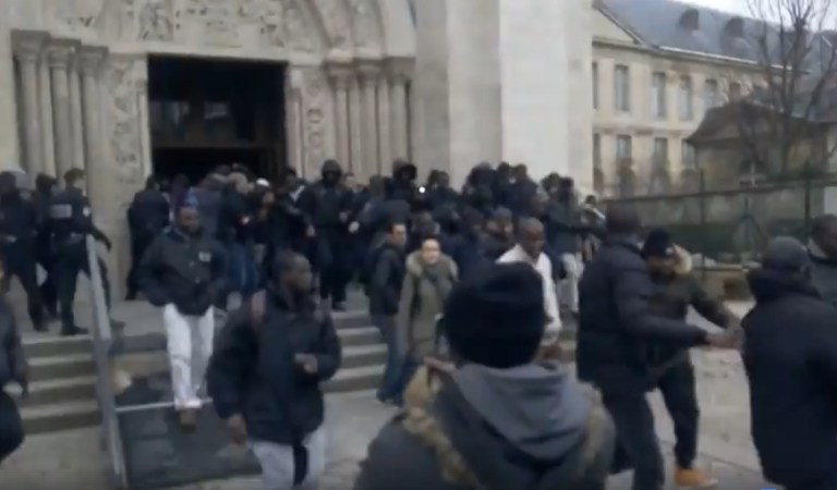 Muslim Immigrants Attack Saint-Denis Church in France: Fact Check