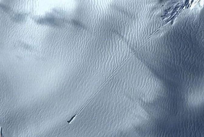 UFO Crash Landing in Antarctica: Google Earth Images – Fact Check