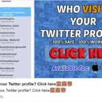 Image of Message: Who Visits Your Twitter Profile, App