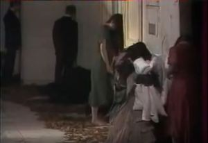 Screenshot from German Stage Performance of Pina Bausch called Blaubart