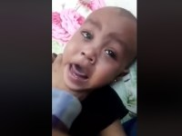 Image from Arabic Woman Beating Twin Babies Badly, Violent Video