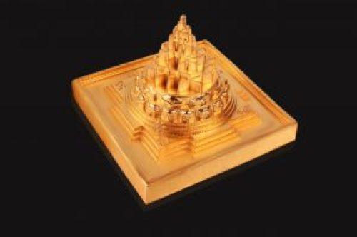 Image of Maha Meru, Sri Yantra represented in three dimensions