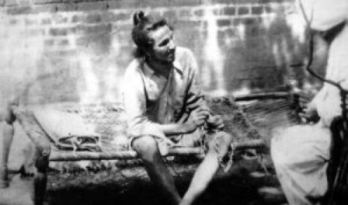 Image of Bhagat Singh during detention in jail
