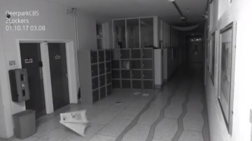 Image about Ireland School Captures Creepy Ghost Footage on Cam