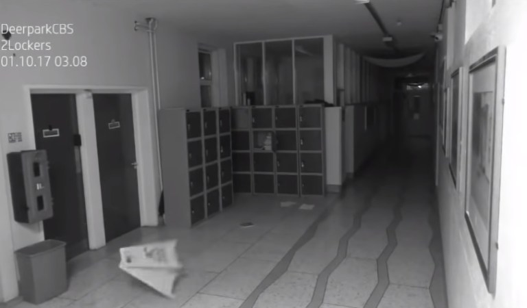 Ireland School Captures Creepy Ghost Footage on Cam: Fact Check