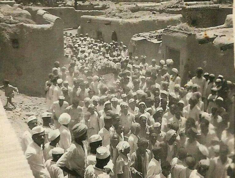 Alleged Shirdi Sai Baba's Antim Yatra Photographs