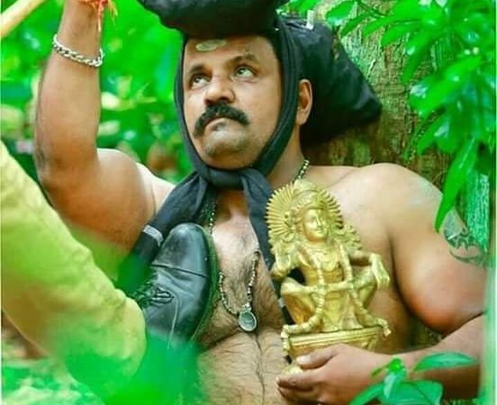 Picture of Police Brutality on Sabarimala Devotee: Fact Check