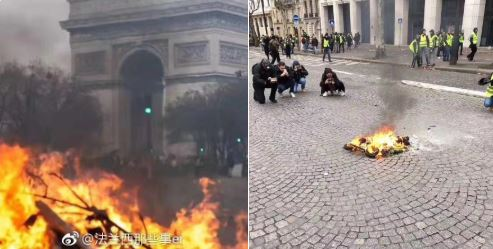 News Reporters Manipulate Images of Paris Burns: Fact Check