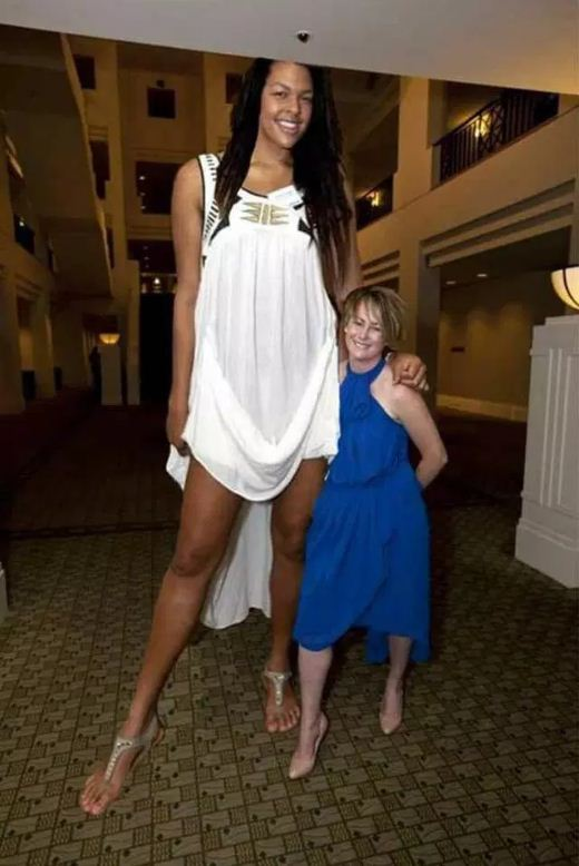 Image about World's Tallest Woman Measuring More than 9 Feet