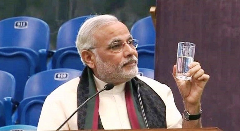 PM Modi Water Costs 10 Crore Rupees During Navratri Fast: Fact Check