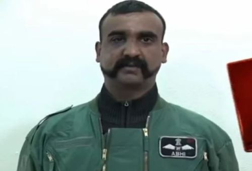 Image of Indian Air Force Wing Commander Abhinandan Varthaman