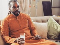 Image about Chris Gayle Campaining for BJP Before Lok Sabha Elections