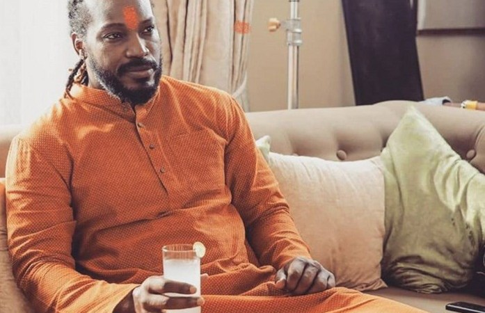 Chris Gayle Campaigning for BJP Before Lok Sabha Elections: Fact Check