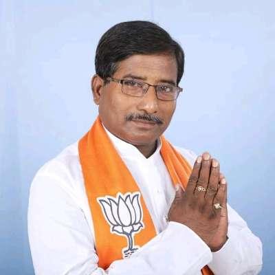 Image of BJP candidate Jagannath Sarkar