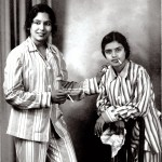 Image about Legends Balasaraswati and Subbulakshmi Smoking Cigarettes