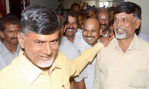 Image of Another look-alike of Chandrababu Naidu
