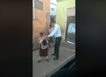 Image about Muslim Teacher Beating Hindu Girls for Not Wearing Hijab