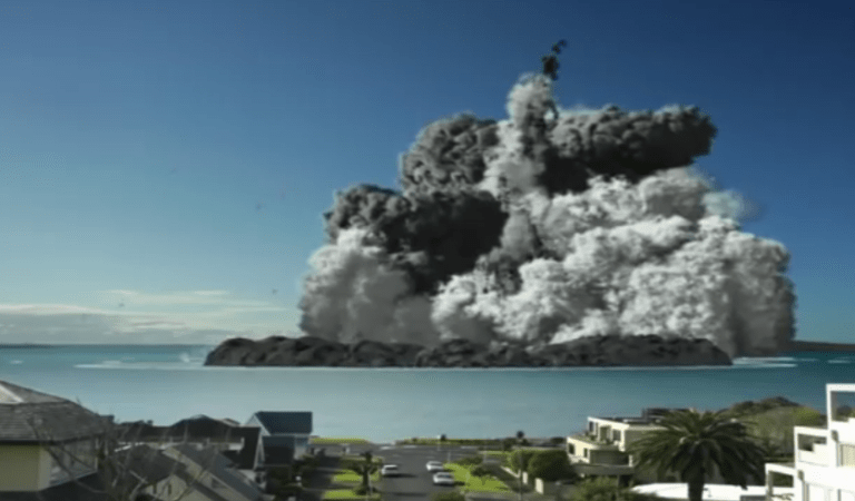 Devastating Video of Sinabung Volcano Eruption in Indonesia: Fact Check