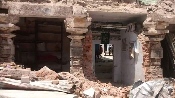 Image about Temple Discovered Upon Demolition of Mosque in Raichur, Karnataka