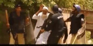 Image about Police Beat Muslim Old Man for Not Chanting Jai Shri Ram