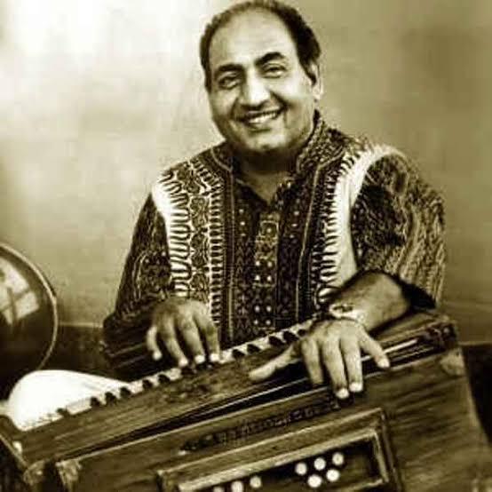 Image of Legendary Hindi playback singer Mohammed Rafi