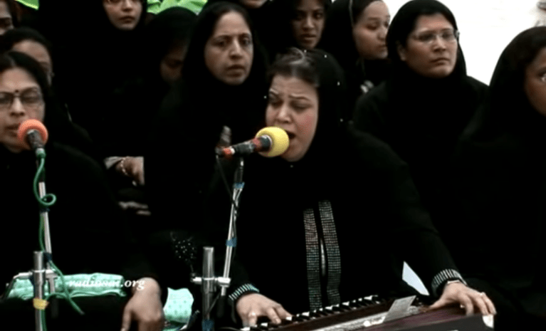 Image about Muslim Women Singing Ram Bhajans in Dubai Mosque, Video