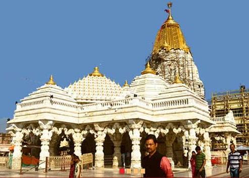 Image of Ambaji Mata Temple in Gujarat