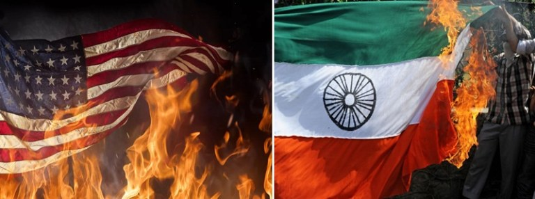 Image about Burning National Flag in America Unlawful, Punishable