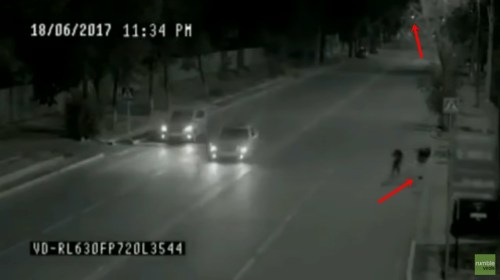 Image about Super Flash Ghost Man Saves Little Girl's Life, Video