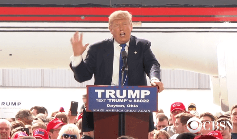 Donald Trump Got Scared of Allah Hu Akbar Slogan from Crowd: Fact Check