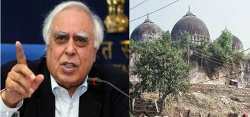 Image about Kapil Sibal Opposing Building Ram Mandir in Ayodhya