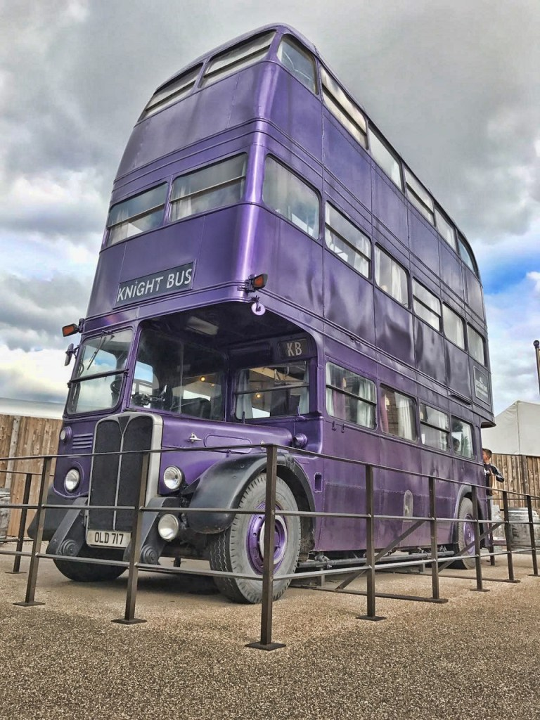 Image of The Knight Bus used in 2004 Harry Potter movie