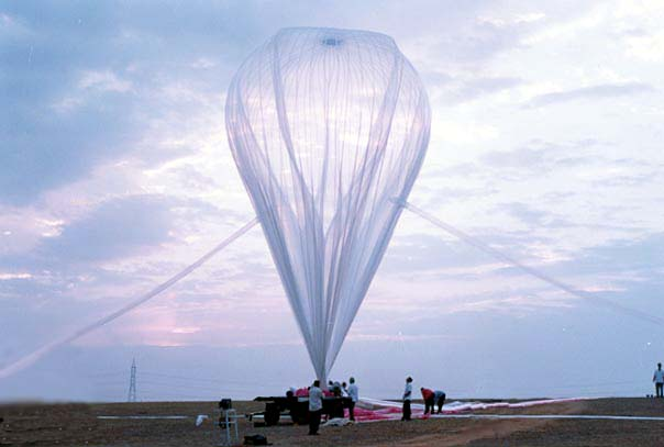 Image of TIFR High altitude Weather Balloons Launch